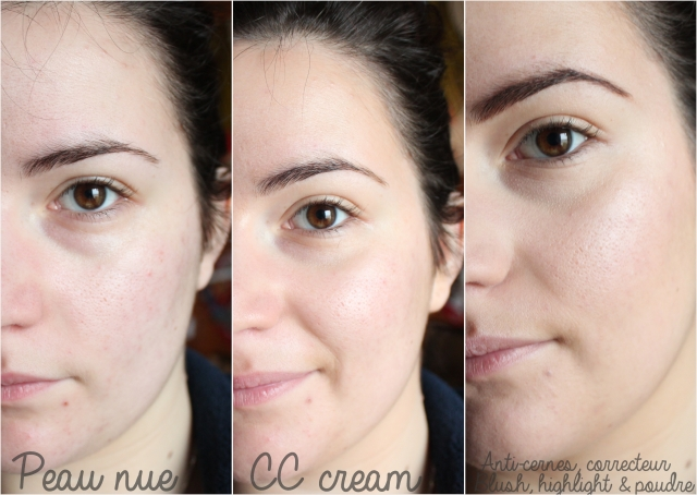 Step by Step CC CREAM