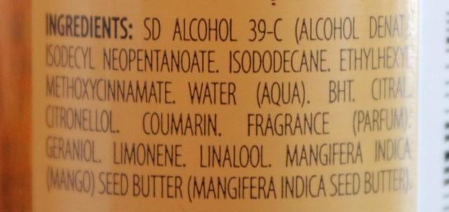 huile compo